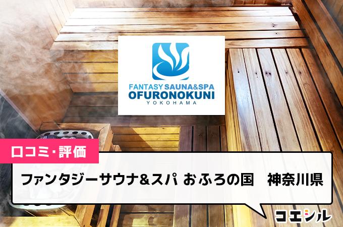 ファンタジーサウナ&スパ おふろの国  神奈川