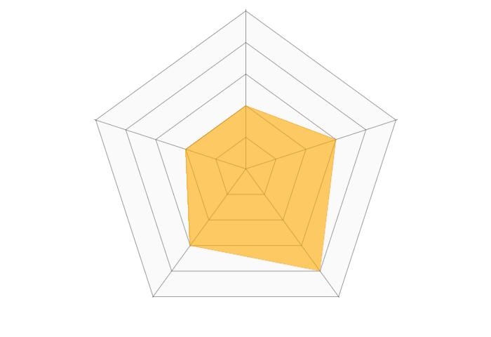 CodeMonkeyのレーダーチャート