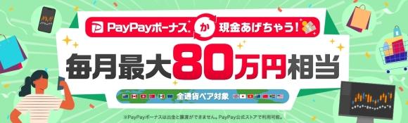 PayPayボーナスか現金プレゼント