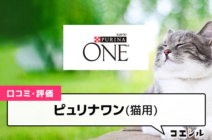 ピュリナワン(猫用)の口コミと評判