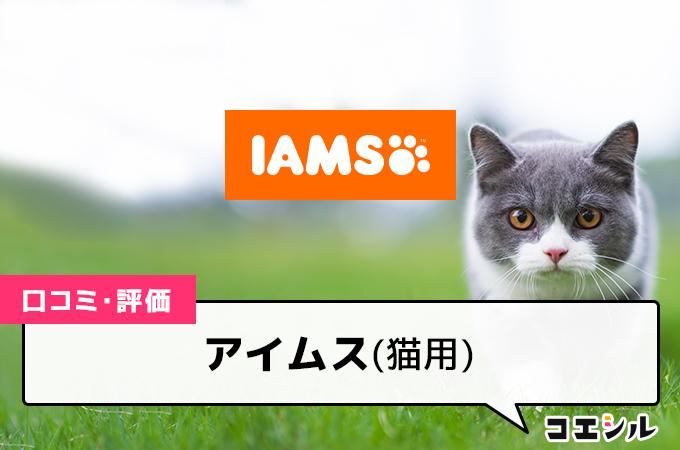 アイムス(猫用)の口コミと評判